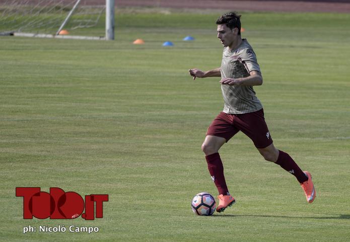CAMPO, 10.7.16, Torino, Sisport, allenamento del Torino FC, nella foto: Lucas Boye