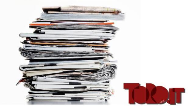 Torino, la rassegna stampa di oggi 26 aprile 2019