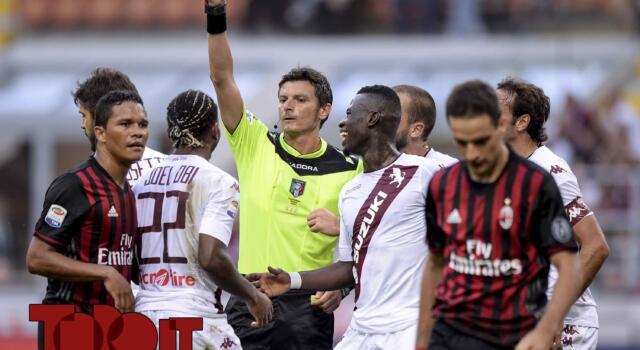 Milan-Torino, il punto su Damato: l'arbitro non sbaglia niente