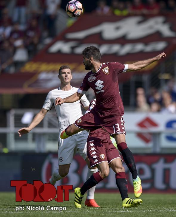 CAMPO, 25.9.16, Torino, stadio Olimpico Grande Torino, 6.a giornata di Serie A, TORINO-ROMA, nella foto: Luca Rossettini