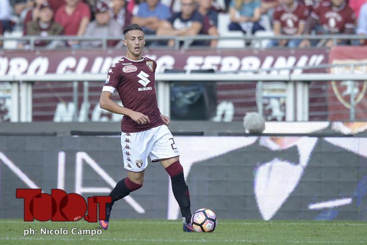 CAMPO, 2.10.16, Torino, stadio Olimpico Grande Torino, 7.a giornata di Serie A, TORINO-FIORENTINA, nella foto: Antonio Barreca
