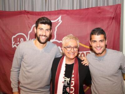 Mondovì granata: grande festa con Benassi e Iago Falque