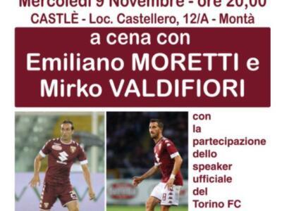 TC Montà d'Alba: cena sociale con Moretti e Valdifiori
