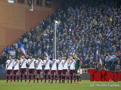 Fotogallery / Sampdoria-Torino: passo falso dei granata