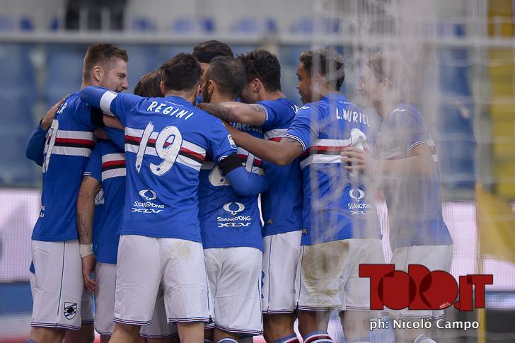 Probabile formazione Sampdoria