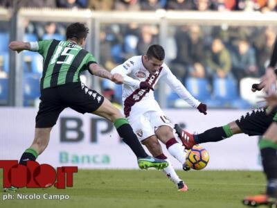 Sassuolo-Torino: granata imbattuti in trasferta, ma i neroverdi segnano molto di più