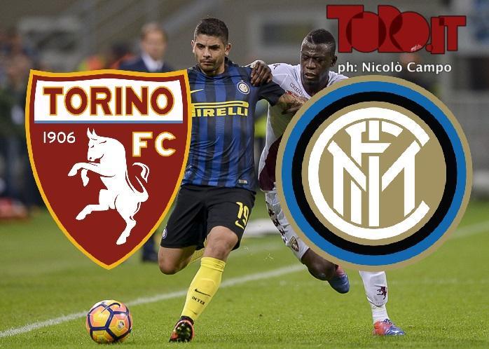 Torino-Inter, Serie A 2016-2017: cronaca in diretta live con formazioni ufficiali, risultato, pagelle, tabellino e sintesi