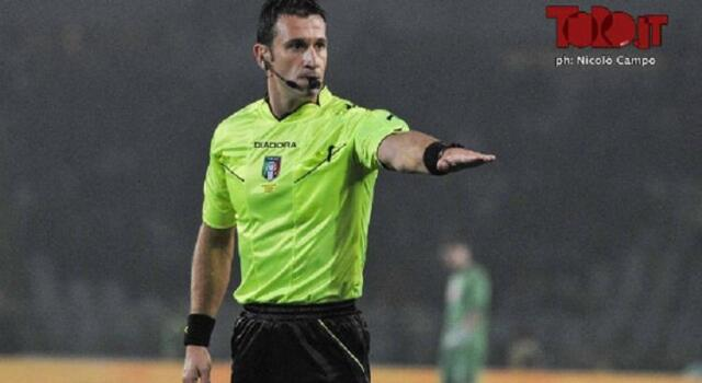 Napoli-Torino, Doveri torna ad arbitrare i granata dopo il disastro del derby di Coppa