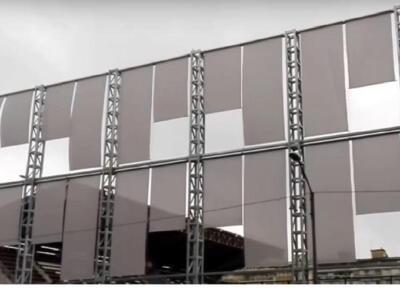 Torino, Filadelfia: prime prove per il dispositivo di occultamento