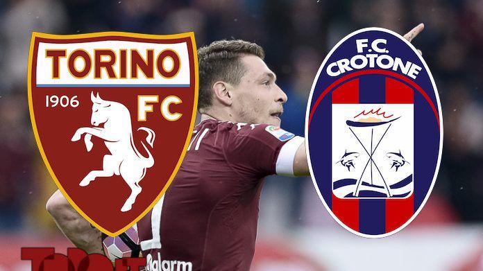 diretta live serie a 2016 2017 torino crotone cronaca prepartita pagelle commenti