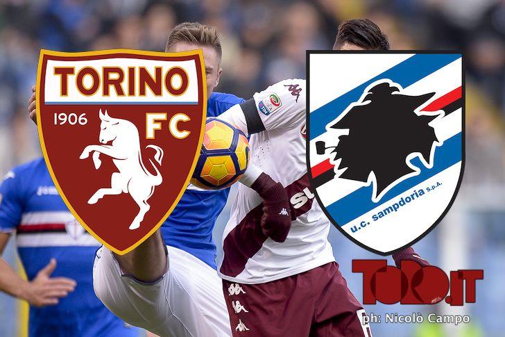 diretta live serie a 2016 2017 torino sampdoria cronaca prepartita pagelle commenti