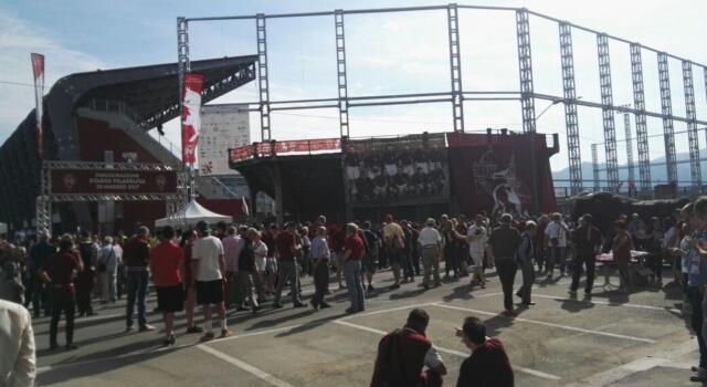 Stadio Filadelfia: l'inaugurazione, porte aperte ai tifosi