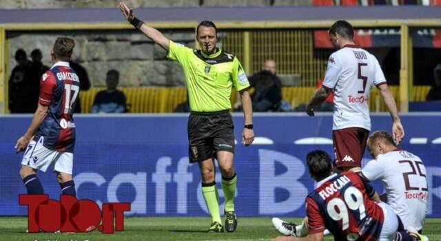 Torino-Cosenza, Abisso arbitrerà l'esordio ufficiale dei granata