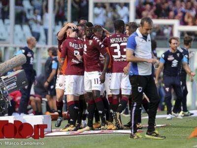 Torino-Sampdoria 2-2: la fotogallery della partita