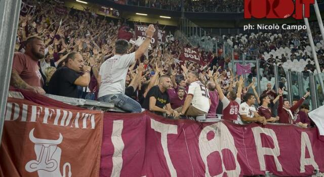 Torino-Cagliari, scontri tra tifosi sotto la Maratona