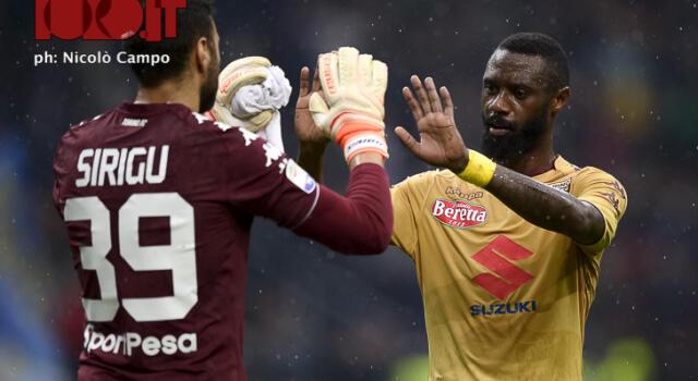 Torino, infortunio Nkoulou: il difensore in parte in gruppo