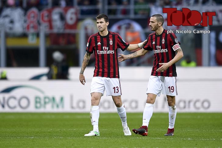 Convocati di Torino-Milan Bonucci Romagnoli