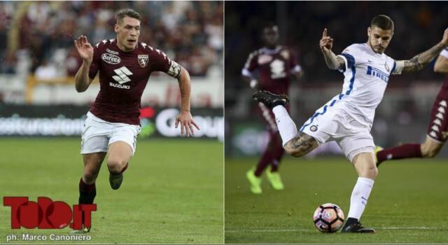 Inter-Torino, confronto tra bomber: Icardi sfida Belotti