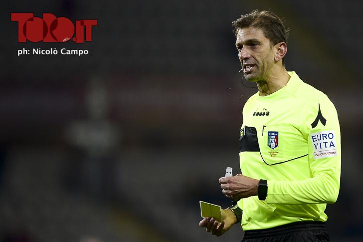 Tagliavento Torino-Inter, arbitro