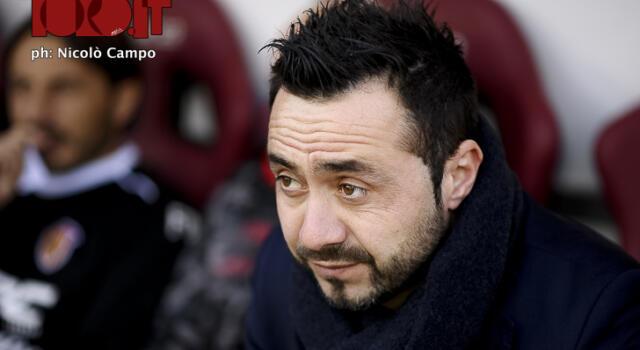 Sassuolo, ora è UFFICIALE: Roberto De Zerbi è il nuovo tecnico dei neroverdi