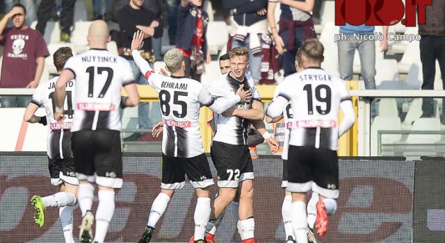 Toro, ecco l'Udinese: Velazquez è all'esordio in Serie A ma i bianconeri sono in crescita