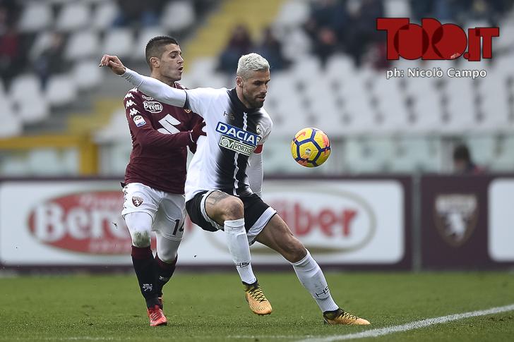 Torino-Udinese 2-0: Iago Falque e Valon Behrami