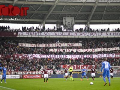 Torino-Fiorentina 1-2, commozione e delusione – FOTOGALLERY