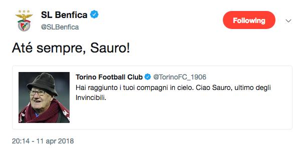 Benfica Tomà Grande Torino