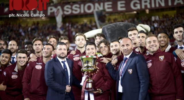 Il Torino Primavera con la Coppa Italia al Gran Gala Granata!