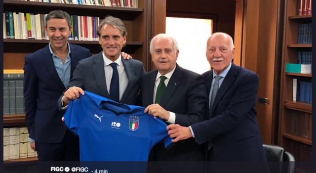 Mancini è il nuovo ct della Nazionale: è UFFICIALE