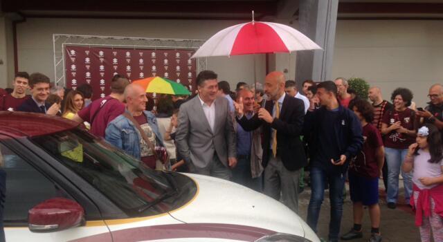 Torino, oltre 200 tifosi al Filadelfia per l'evento Suzuki