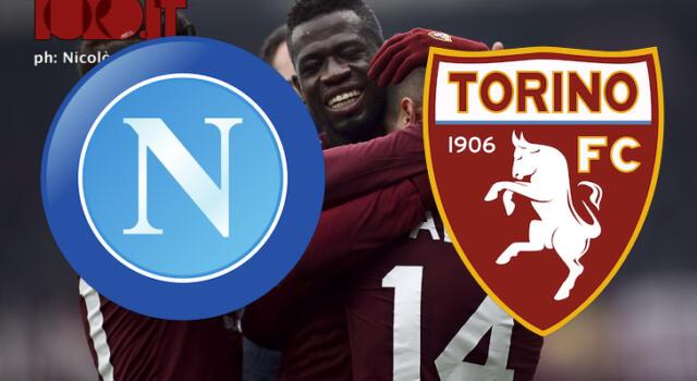 Napoli-Torino 2-2: il tabellino