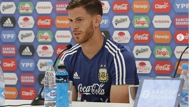 """Argentina, Ansaldi: """"Sto vivendo un sogno"""""""