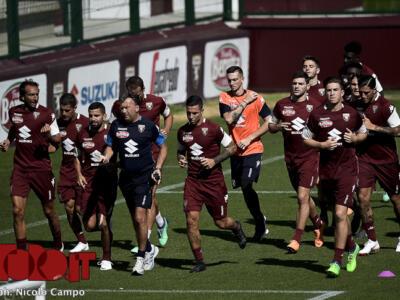 Torino, è già vigilia: allenamento a porte chiuse al Grande Torino
