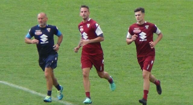 Damascan al primo allenamento con il Toro, a parte Lukic e Acquah
