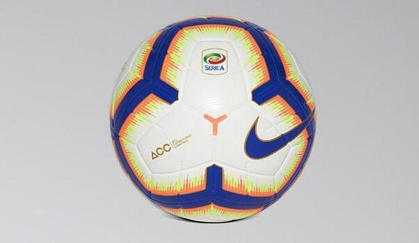 Serie A, presentato il pallone del campionato 2018/2019