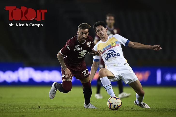 Torino-Chapecoense: Vittorio Parigini