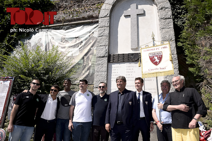 Plinio David de Nes Filho pays tribute to Grande Torino