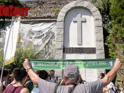 Fotogallery / Chapecoense a Superga: commozione per il Grande Torino