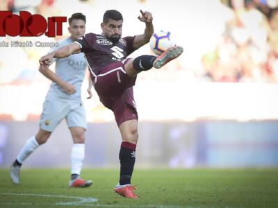 Soriano fuori, Toro alla vecchia maniera: Rincon torna titolare