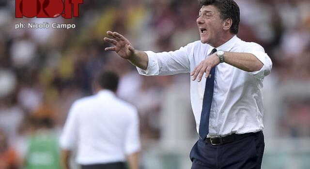 """Torino, Mazzarri: """"Timidi nel primo tempo. Zaza-Belotti? Servirà tempo"""""""