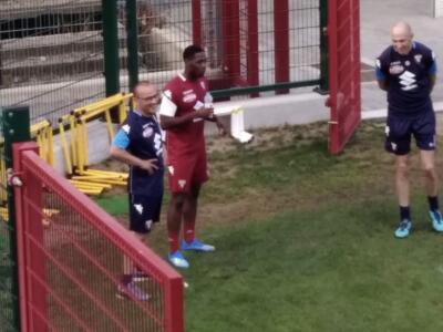 Torino: doppia seduta a porte chiuse, Mazzarri prova subito Aina