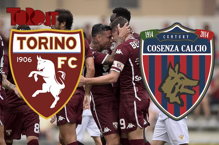 diretta live coppa italia 2018 2019 torino cosenza cronaca prepartita tabellino pagelle commenti