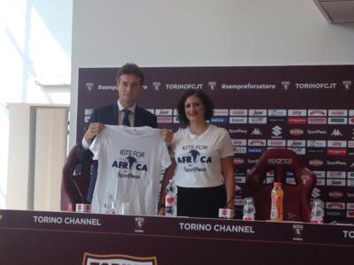 Torino e SportPesa per Kits For Africa: l'iniziativa prima del Napoli