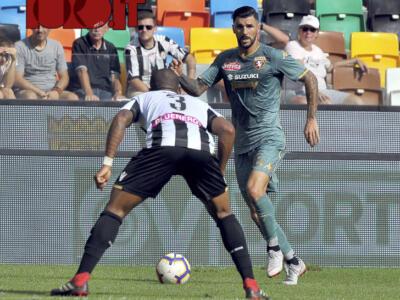 Toro, torna titolare Soriano, Lukic possibile sorpresa