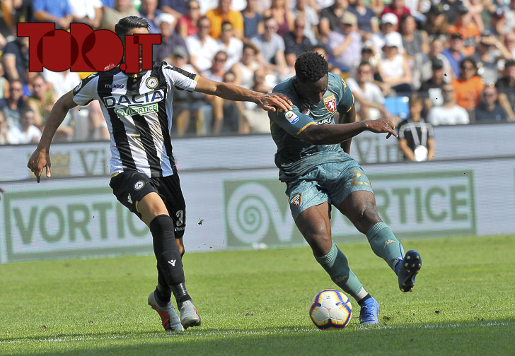 Souhailo Meité gol Udinese-Torino