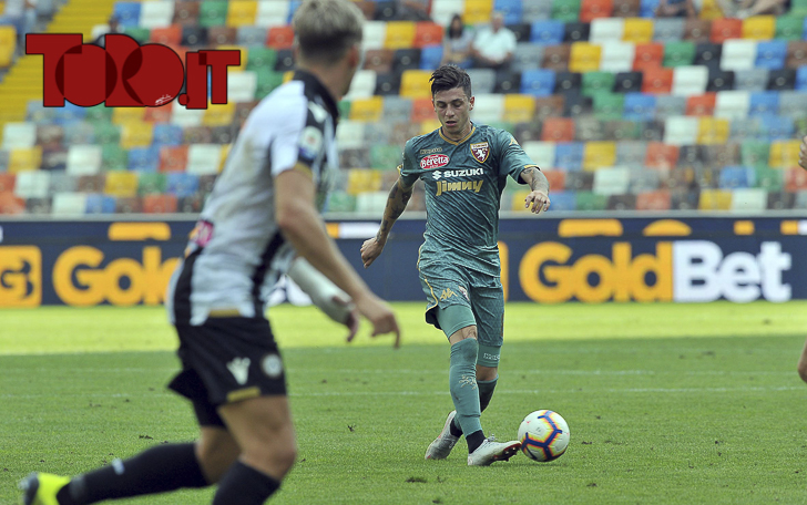 Daniele Baselli Udinese-Torino 1-1