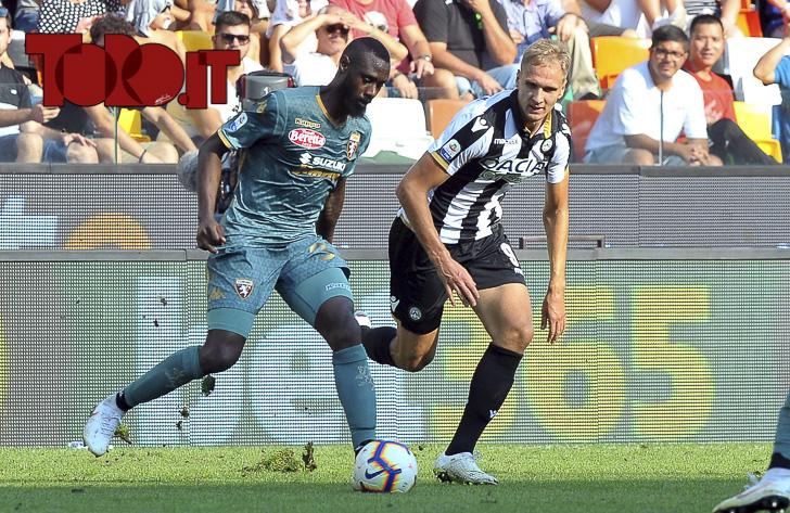 Udinese-Torino 1-1: Nicolas Nkoulou