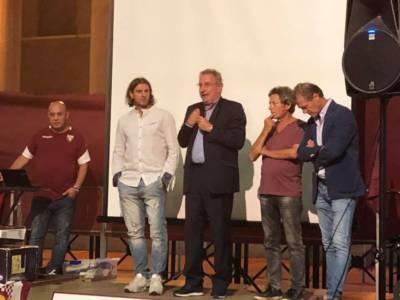 """A Saluzzo festa granata con Sclosa e Lentini: """"Non volevo lasciare il Toro"""""""