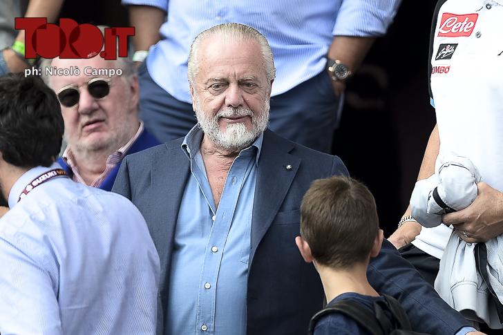 Serie A 2018/2019 - Torino-Napoli 1-3: Aurelio De Laurentiis